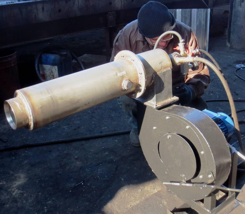 Завихритель на газовую горелку своими руками