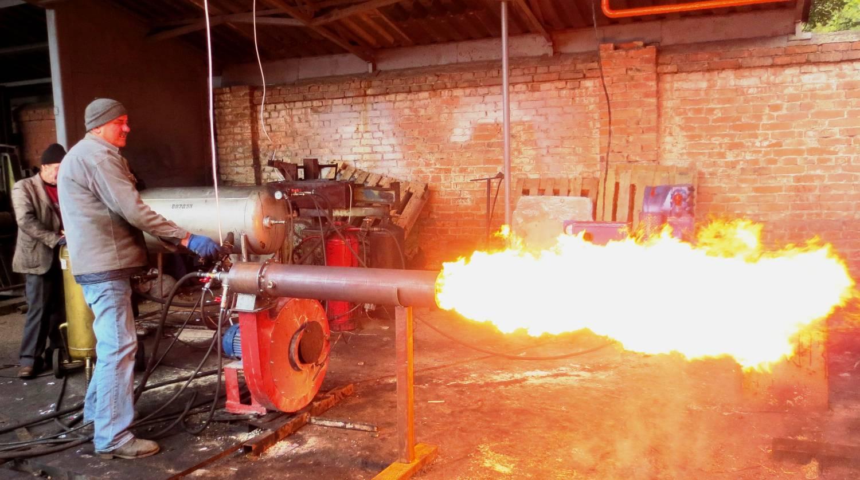 промышленная газовая горелка